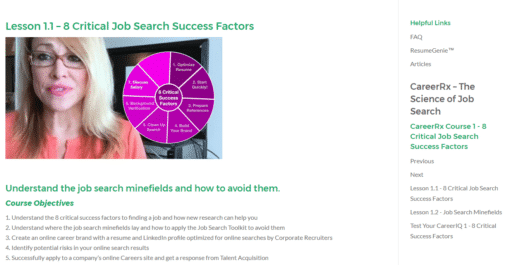 Lesson 1.1 8 Critical Job Search Success Factors The Career Launcher